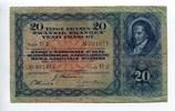 20 Franken, 1944, Schweiz,  III-,  85,00 EUR