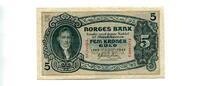 5 Kroner, 1943, Norwegen,  I,  130,00 EUR117,00 EUR  +  7,00 EUR shipping