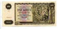 1000 Korun/Kronen, 1940, Slowakei,  II-,  65,00 EUR  +  7,00 EUR shipping