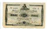 2 Riksdaler-Banco, 1851, Schweden,  II,  230,00 EUR  +  7,00 EUR shipping