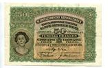 50 Franken, 1927, Schweiz,  III,  130,00 EUR  +  7,00 EUR shipping