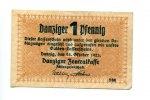 1 Danziger Pfennig, 22.10.1923, Danzig,  II-III,  85,50 EUR76,95 EUR  +  7,00 EUR shipping