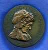 Br.-Medaille, o.J., Frankfurt/M., einseitiges Bronzemedaillon Emma Gros... 185,00 EUR  +  7,00 EUR shipping