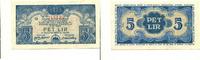 5 Lire, (1944) Jugoslawien/Slovenien, Regionalgeld II Weltkrieg-Bank of... 65,00 EUR55,00 EUR  +  7,00 EUR shipping
