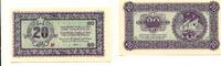 20 Lire, 1945, Jugoslawien/Slovenien, State bank for Istrien,Fiume and ... 165,00 EUR125,00 EUR  zzgl. 5,00 EUR Versand