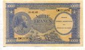 1000 Francs, 1962, Congo,Demokratische Republik,  I-II,  495,00 EUR  +  7,00 EUR shipping