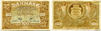 100 Kroner/Kronen, 1928, Dänemark,  III,  240,00 EUR222,00 EUR  +  7,00 EUR shipping