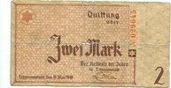 2 Mark 1940, Litzmannstadt,  stark gebraucht,  75,00 EUR67,50 EUR  +  7,00 EUR shipping