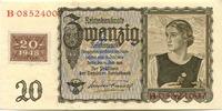 20 Mark 1948 DDR -Kuponausgabe, I,  79,00 EUR
