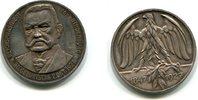 Ag.Medaille 1927,  Reichspräsident von Hindenburg zum 80.Geburtstag , vz  85,00 EUR  +  7,00 EUR shipping
