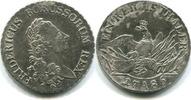 Taler 1786 Brandenburg/Preussen, Friedrich II.der Große 1740-1786, ss g... 155,00 EUR  zzgl. 5,00 EUR Versand