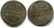 6 Pfennig 1721 Osnabrück-Bistum, Ernst August II.v.York, ss  65,00 EUR  zzgl. 5,00 EUR Versand