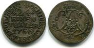 1/24 Taler 1755 Münster-Bistum, Clemenz August v.Bayern 1719-1761, ss  30,00 EUR  zzgl. 5,00 EUR Versand