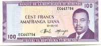 100 Francs 1993 Burundi,  Unc  150 руб 2,00 EUR  +  523 руб shipping