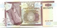 50 Francs 2005 Burundi,  Unc  150 руб 2,00 EUR  +  523 руб shipping