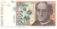 5000 Pesetas 1992(1996) Spanien,  II  4860 руб 65,00 EUR  +  523 руб shipping