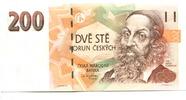 200 Kronen/Korun 1998 Tschechoslowakei,  Unc  1346 руб 18,00 EUR  +  523 руб shipping