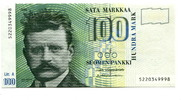 100 Markkaa 1986 Finnland,  Unc  5982 руб 80,00 EUR  +  523 руб shipping