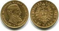 20 Mark 1888A Preußen, Friedrich  III.1888, vz  24900 руб 333,00 EUR  +  523 руб shipping