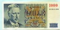 1000 Francs 1950 Belgien,  I  245,00 EUR  +  7,00 EUR shipping