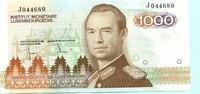 1000 Francs (1985) Luxemburg,  Unc  6730 руб 90,00 EUR  +  523 руб shipping