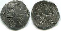 8 Reales o.J. Bolivien, Philip II.1555-1598, ss  57951 руб 775,00 EUR  +  2841 руб shipping