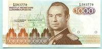 1000 Francs (1985) Luxemburg,  I  90,00 EUR  +  7,00 EUR shipping