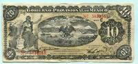 10 Pesos 1914 Mexico, Gobierno Provisional de Mexico-Veracruz, III  16,00 EUR  zzgl. 5,00 EUR Versand