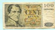 100 Francs 1956 Belgien,  IV  12,00 EUR  zzgl. 5,00 EUR Versand