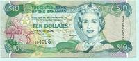 10 Dollars 1996 Bahamas,  II-III  7361 руб 99,50 EUR  +  518 руб shipping