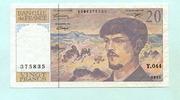 20 Francs 1993 Frankreich,  III,  444 руб 6,00 EUR  +  518 руб shipping
