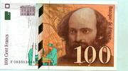 100 Francs 1997 Frankreich,  unc,  2182 руб 29,50 EUR  +  518 руб shipping