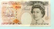 10 Pounds (1992-93) Großbritannien,  II-III,  1628 руб 22,00 EUR  +  518 руб shipping
