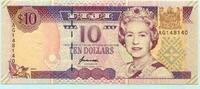 10 Dollars, (1996) Fiji,  Unc  1443 руб 19,50 EUR  +  518 руб shipping