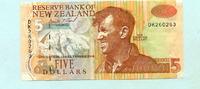5 Dollars (1992-97) Neuseeland,  II  1036 руб 14,00 EUR  +  518 руб shipping