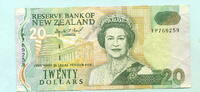 20 Dollars (1993) Neuseeland,  III  2182 руб 29,50 EUR  +  518 руб shipping