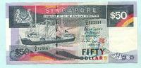 50 Dollars (1987) Singapur,  II  5142 руб 69,50 EUR  +  518 руб shipping