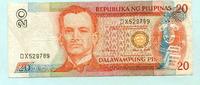 20 Pilipinas (1998) Philippinen  III  222 руб 3,00 EUR  +  518 руб shipping