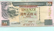 20 Dollars 1994 Hongkong,  II-  703 руб 9,50 EUR  +  518 руб shipping