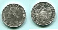 Taler 1858F Sachsen, Johann 1854-1873, vz  12946 руб 175,00 EUR  +  518 руб shipping