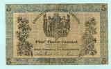 5 Taler 1856 Preussen, Königl.Preussische Kassen-Anweisung, III/IV  355,00 EUR  zzgl. 5,00 EUR Versand