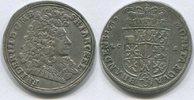 2/3 Taler 1689 Brandenburg/Preussen, Friedrich III.1688-1701, ss  145,00 EUR  zzgl. 5,00 EUR Versand
