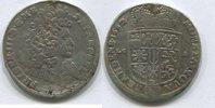 2/3 Taler 1692 Brandenburg/Preussen, Friedrich III.1688-1701, s-ss Hlsp.  85,00 EUR  zzgl. 5,00 EUR Versand