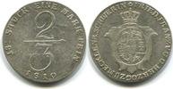 2/3 Taler 1810 Mecklenburg-Schwerin, Friedrich Franz 1785-1837, ss  285,00 EUR  zzgl. 5,00 EUR Versand