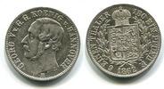 1/6 Taler 1862B Hannover, Georg V. 1851-1866, f.vz  2543 руб 40,00 EUR  +  445 руб shipping