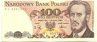 100 Zlotych 1.11.1988 Polen,  Unc  2,00 EUR  zzgl. 5,00 EUR Versand