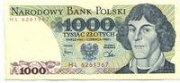 1000 Zlotych 1.06.1982 Polen,  Unc  2,00 EUR  zzgl. 5,00 EUR Versand