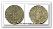 1/6 Taler 1842 Altdeutschland ~ Hessen / Kassel ~ ~ ss+  60,00 EUR