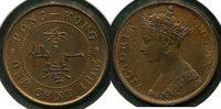 1 Cent 1863 Hong Kong ~ Britische Kolonie 1842-1997 / Queen Victoria ~ ... 250,00 EUR199,00 EUR  zzgl. 5,00 EUR Versand