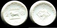 2 Mark 1922 Deutsches Reich ~ Schleiz / Notgeld Keramik - Porzellan ~   90,00 EUR